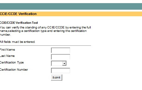 CCIE number verification is not rocket science if I can do it!  Here's how you can do it too.