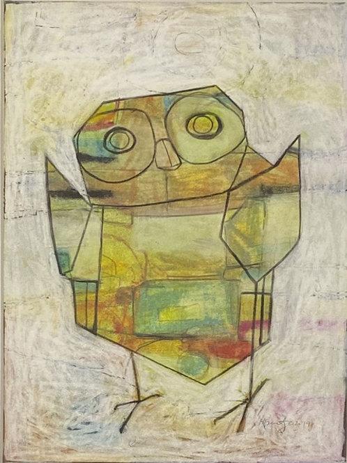 Heather Bentz • Owl - Original Artwork