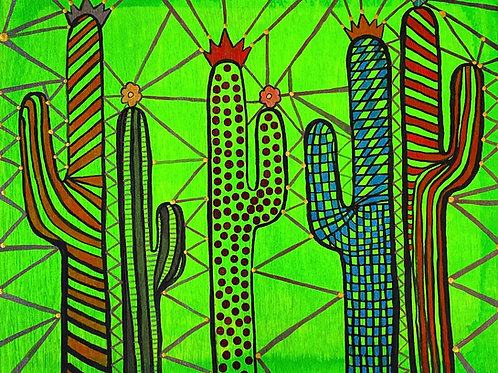 Valerie Galloway • Desert Candy Land - Original Artwork