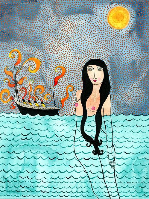 Valerie Galloway • The Lost Voyage  - Original Artwork
