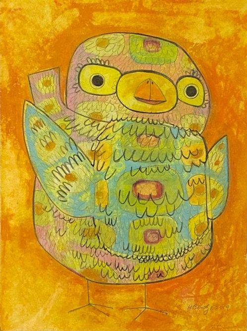 Heather Bentz • Fiesta Chick - Original Artwork