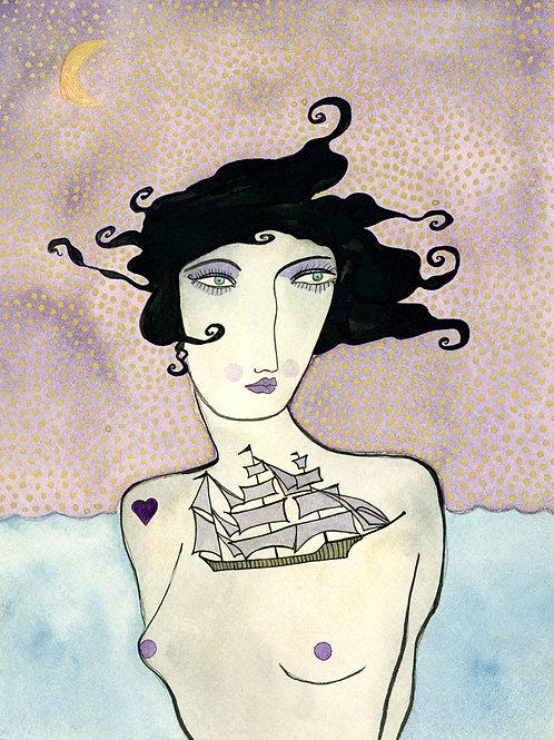 Valerie Galloway • Windswept - Original Artwork