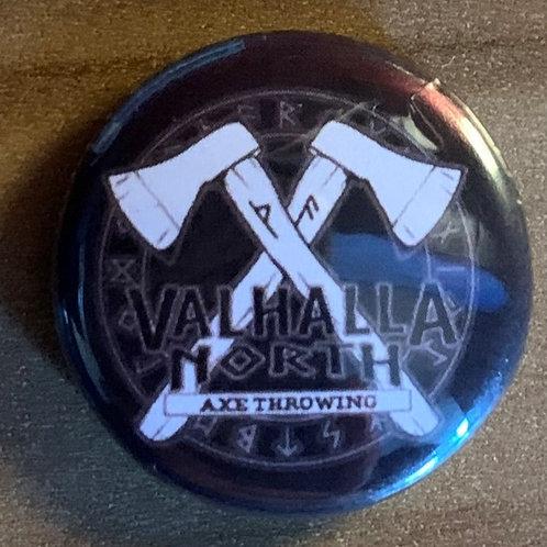 Valhalla North Button Badge