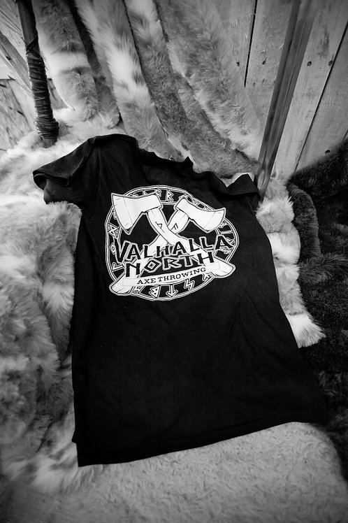 Valhalla North back print T-shirt