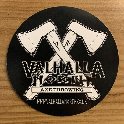 Valhalla North Sticker