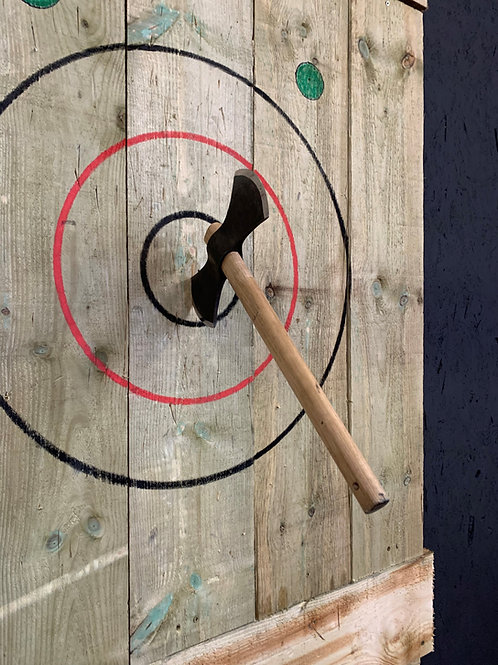 Valhalla North Double-bit Throwing Axe