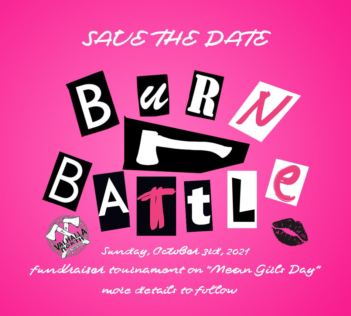 Burn Battle Charity Tournament