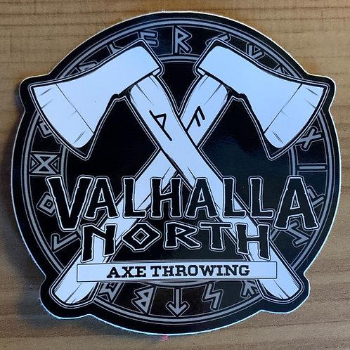 Valhalla North Sticker