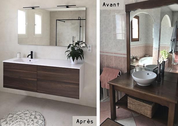 Avant Apres salle de bains 1 - Nuances D