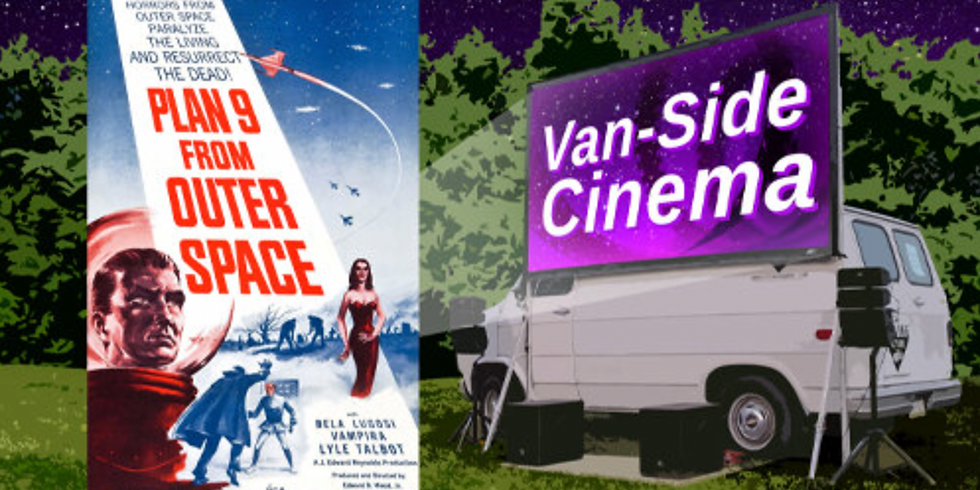 Van-side Movie Night with The Moving Picture!