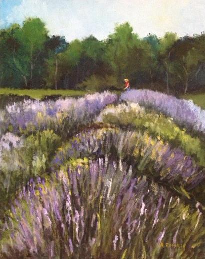 In the Lavender Field II