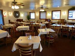 Pesos River Cafe Dining Area