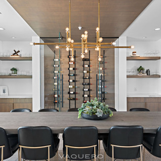 Wine Wall and Ceiling