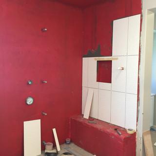 Bathroom remodel waterproofing