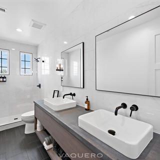 Custom Shower and Vanities