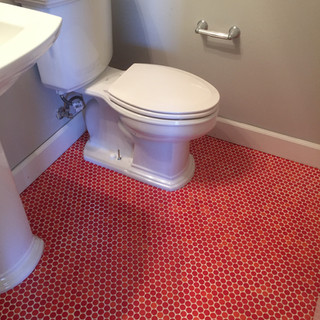 Bold Powder Bath Tile