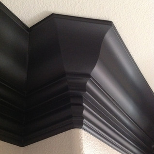 Double stack Crown Moulding
