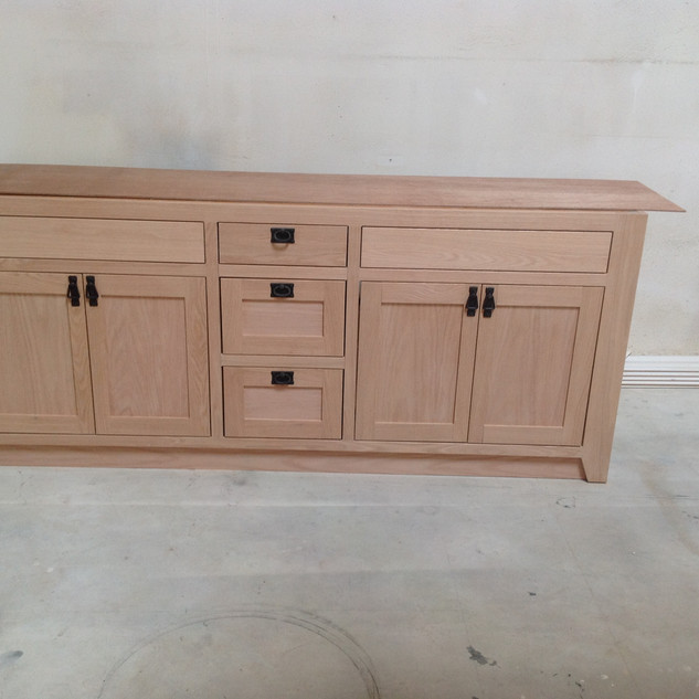 Custom Oak Vanity