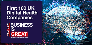 """Navenio chosen for """"The First 100"""" Digital Health Companies by UK DIT"""