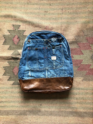 Standard Leather Botton Backpack