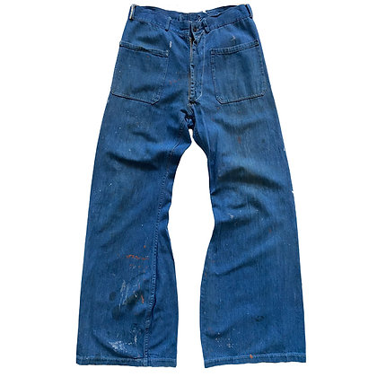30's US Navy Sailor Redline Denim