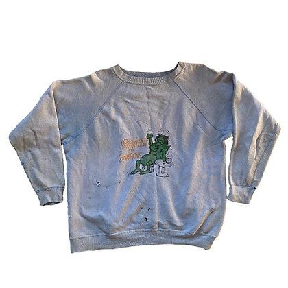 50's gusset custom printed sweatshirt