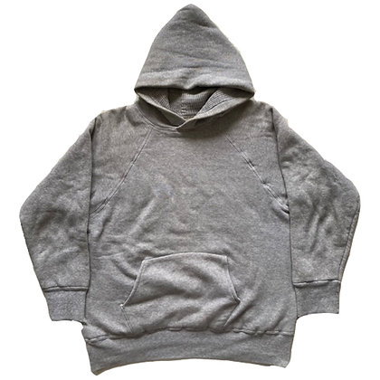 60's Waffle Lined Heavy Cotton Hoodie