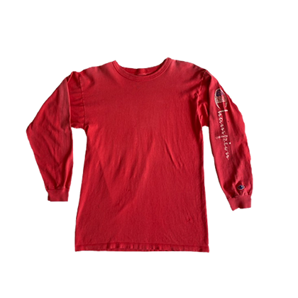 80's Champion Heavy Cotton Long Sleeve