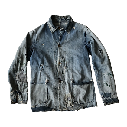1930's Big Smith Denim Chore Coat