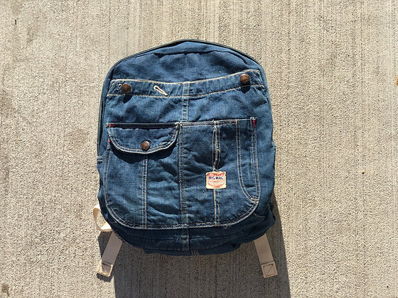 Petite Denim Backpack