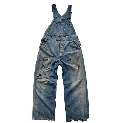 40's Lee Repaired Overalls