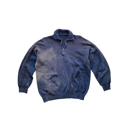 50's Sun Faded 1/4 zip Sweatshirt
