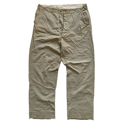 30's Headlight Chino Trousers