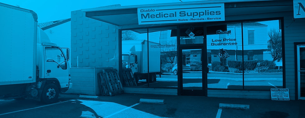 Store Front of Diable Medical Supply