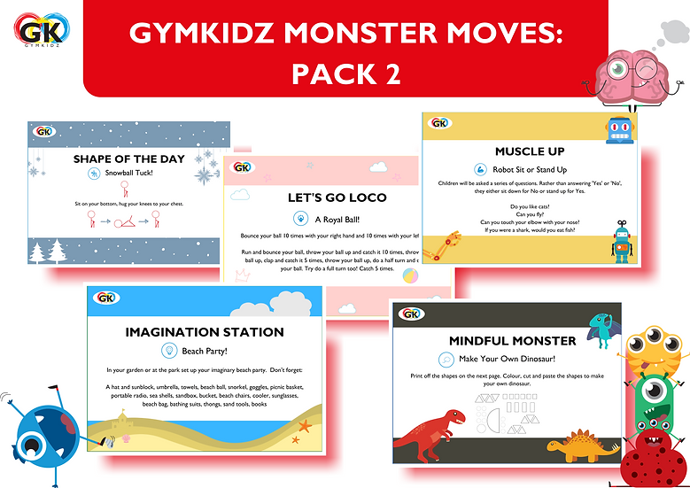Monster Moves - Pack 2 of 3