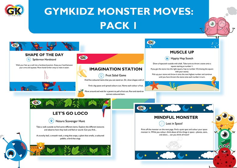 Monster Moves - Pack 1 of 3