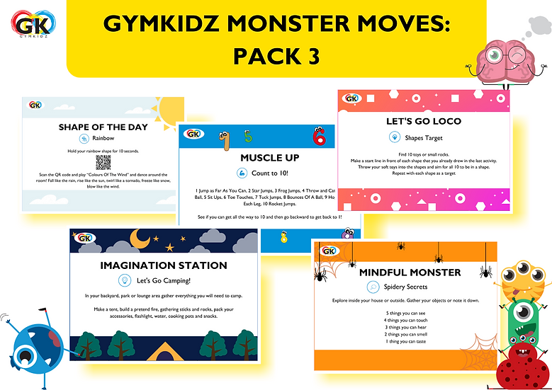 Monster Moves - Pack 3 of 3