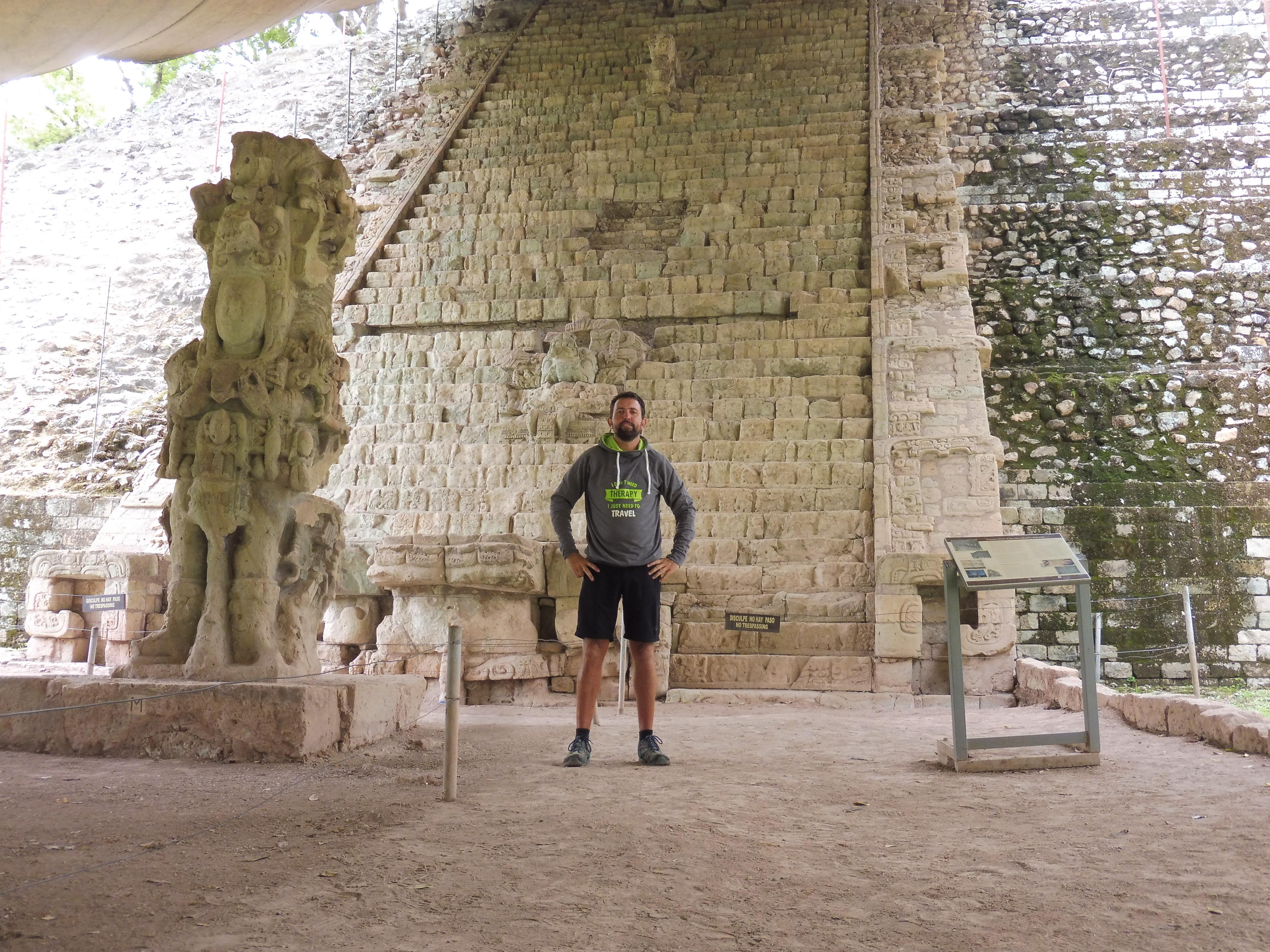Copan Ruinas - Hyroglyphentreppe