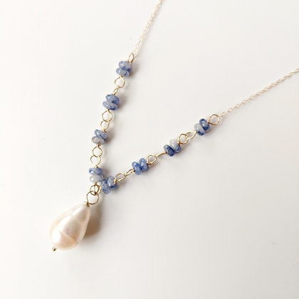 White/Blue Necklace