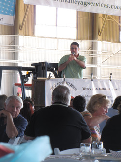 Auctioneer Rob Ramay