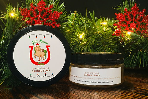 Winter Holiday Saddle Soap