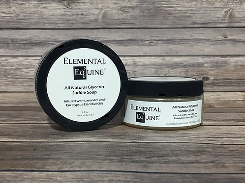 All Natural Glycerin Saddle Soap
