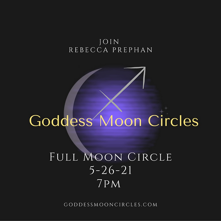 Goddess Full Moon Circle
