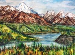 Chugach Alaska Mountain Range