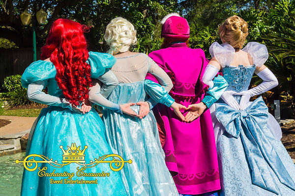 Enchanting Encounters | Houston Princess Parties Princesses visiting in League City
