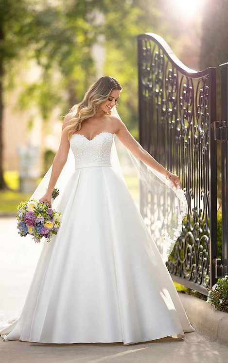 Bridal Studio, Stella York, Ball gown, strapless, katie