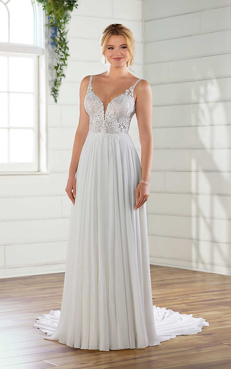 Indi, Bridal Studio, Essense, lace, chiffon, floaty