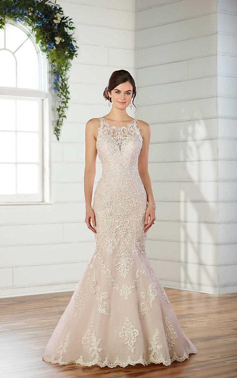 Max, Bridal Studio, Essense, High neck, lace, mermaid