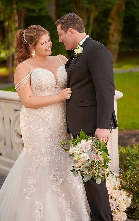 Becky, Stella York, Bridal Studio, Fit and Flare, strapless