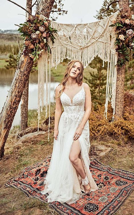 marly all who wonder tulle boho split bridal studio napier